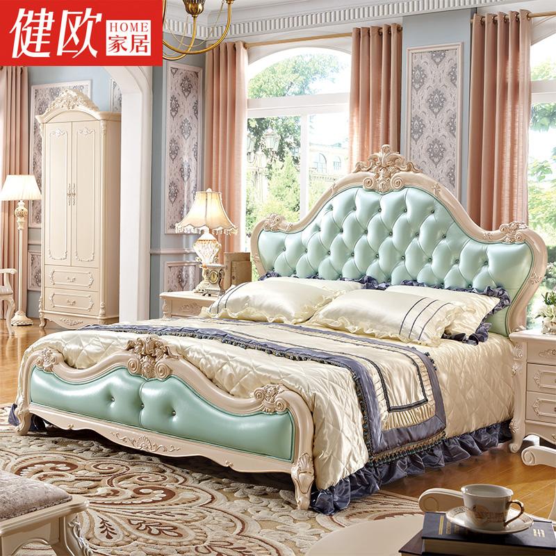 欧式奢华公主床家具图片
