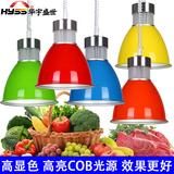 新款LED生鲜灯超市水果蔬菜灯猪肉熟食卤菜灯冷鲜肉海鲜照明吊灯