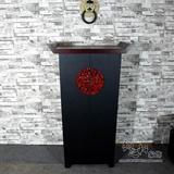 中式复古典家具  树脂工艺家居饰品 玄关柜储物柜 餐边柜