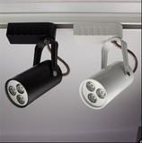 LED射灯3W LED轨道灯 滑轨灯 轨道射灯 节能灯 服装灯
