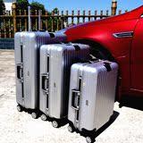 铝框拉杆箱万向轮防刮旅行箱磨砂行李箱男女潮密码箱出国托运箱pc