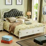 壹加一家居 美式实木床欧式1.8米双人床田园公主婚床美式家具组合