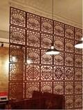 挂式屏风隔断帘玄关客厅屏风房间隔断餐厅茶楼时尚现代简约装饰帘