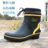 雨鞋男士低帮短筒春夏秋钓鱼鞋水鞋套鞋雨靴韩版时尚防水鞋防滑