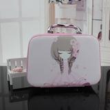化妆包收纳包大容量韩国专业手提便携可爱化妆品洗漱包小号化妆箱