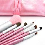 包邮马毛7支化妆套刷初学者便携款眼影刷腮红刷专业彩妆工具全套