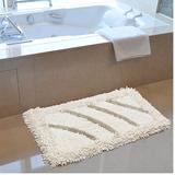 雪尼尔浴室吸水地垫地毯卫生间厨房卧室门垫卫浴防滑绒面地垫脚垫