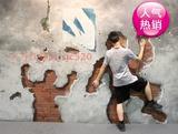 大型会展宣传展示壁画手绘3D油画动物卡通装饰地画挂 可定制画心