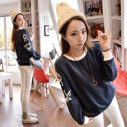 韩国长袖时尚t恤