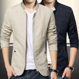泰芝郎春季韩版上衣学生外套棒球薄款青少年男装潮男士夹克时尚潮