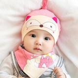 新生儿胎帽婴儿帽子0-3-6-12个月春秋季男女宝宝帽子韩国纯棉春夏