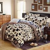 靓梦缘法莱绒床单四件套超柔珊瑚绒被套单件加厚法兰绒1.5/1.8米