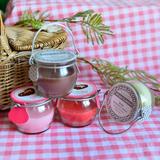 midi 出口单蜂蜜罐子香味蜡烛4款香薰餐桌节日温馨装饰小礼品