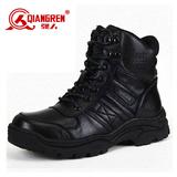 强人3515正品军靴冬季战靴户外靴短工装雪地靴羊毛保暖棉鞋男靴子