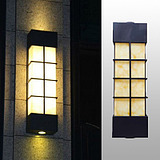 仿云石壁灯防水不锈钢室外墙壁灯别墅酒店庭院LED户外墙壁防水灯