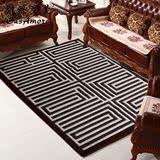 CasAmore 现代简约风客厅地毯 书房办公室沙发茶几垫门厅大垫子