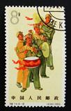 【外滩老邮子】纪特邮票:特74 人民军队(8-8) 盖销,上品