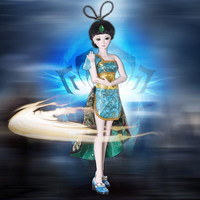 叶罗丽娃娃正品精灵梦夜萝莉菲灵大礼盒孔雀仙子60厘米蝴蝶梦人偶图片