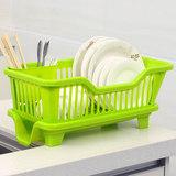 厨房洗碗沥水碗架 放碗筷碗篮碗碟碗盘碗柜 滴水餐具收纳置物塑料