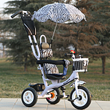 新款促销儿童三轮车推车宝宝脚踏车婴幼儿手推车玩具车充气三轮车