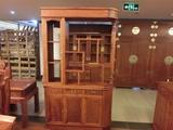 缅甸花梨隔厅柜 实木门厅柜 间厅柜大果紫檀红木家具 鞋柜