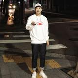 韩国官方代购直邮 太阳大码宽松嘻哈卫衣套头百搭打底男款卫衣
