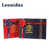 代购Leonidas礼盒纯可可脂黑巧克力进口比利时夹心零食28粒装