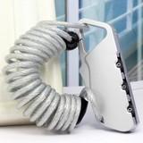 拉杆箱锁钢丝绳密码锁行李防盗伸缩机械锁背包锁超硬合金箱包配件
