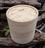 蒸笼蒸屉 家用全竹蒸笼屉 送草垫包邮家庭装三笼一盖竹蒸笼 竹制