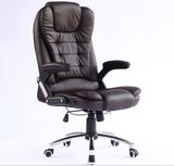 泽熙真皮老板椅人体工学办公椅电脑椅 可升降旋转大班椅牛皮转椅