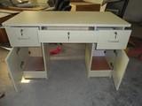 电脑桌 员工办公桌 写字台 办公桌 带锁办公桌  带抽屉书桌 书桌