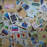 3月新到日本纪特邮票信销剪片 无普票 50克14.9元包邮 送5枚卡通