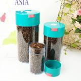YAMI台湾专利 保鲜亲亲咖啡密封罐 咖啡豆粉储存罐 多功能密封罐