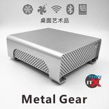 包邮酷鱼超薄全铝ITX迷你主机HTPC小机箱/个性卧式机箱/静音散热