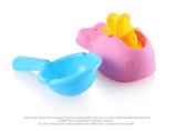 新款儿童戏水玩具 婴儿洗澡泡澡益智玩具 鲸鱼趣味水车+小水勺子