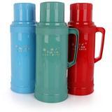 红日热水瓶家用保温瓶壶塑料外壳 普通开水瓶 玻璃内胆5磅2L