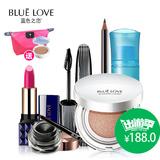 BLUELOVE/蓝色之恋美丽日记6件套 化妆品初学者彩妆套装全套组合