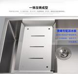 水槽沥水板 加厚304不锈钢 厨房手工水槽配件
