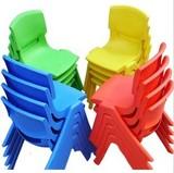 育才正品幼儿园成套桌椅批发儿童塑料靠背椅幼儿椅宝宝小椅子凳子