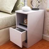 超窄边柜 25CM厘米迷你小床头柜 斗柜卧室客厅边柜储物收纳柜