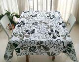 特价促销纯棉加厚帆布桌布布艺餐桌布欧式台布盖布简约蝴蝶花定做