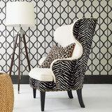 美式布艺沙发椅老虎椅实木单人休闲椅现代客厅卧室书房小户型椅子