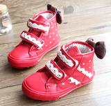 2013冬新款韩版儿童雪地靴防水防滑女童靴子棉鞋短靴儿童鞋