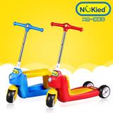 纽奇儿童滑板车脚踏车3三轮2岁 宝宝踏板滑行学步车童车新款正品
