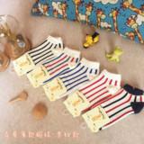 儿童袜子纯棉3-5岁男孩女童船袜隐形7-9岁全棉春夏薄款1-3岁宝宝