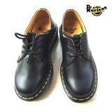 香港代购3孔ADRIAN低帮1461Dr.martens硬牛皮休闲男女鞋马丁靴