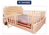 床护栏床围栏儿童1.8米婴儿防护栏1.5米大床挡板护栏实木
