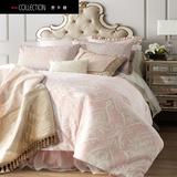 欧式提花四件套纯棉床单北欧简约婚庆床品4件套高端家纺床上用品
