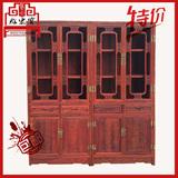 非洲小叶红檀明式书柜博古架书房客厅组合中式红木古典全实木包邮
