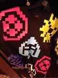16款evisu欧版 像素 短袖 T恤 2色入 专柜正品代购